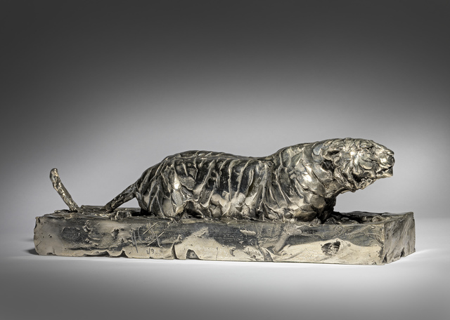 Mark Coreth, '9. Stalking Amur Tiger', 2019, Sladmore Contemporary