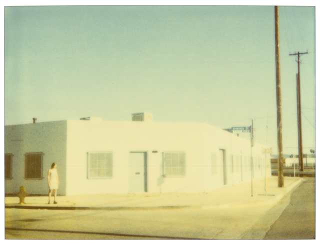 Stefanie Schneider, 'Streetcorner', 2003, Photography, Analog C-Print, hand-printed by the artist on Fuji Crystal Archive Paper, matte surface. Based on an original expired Polaroid, Instantdreams