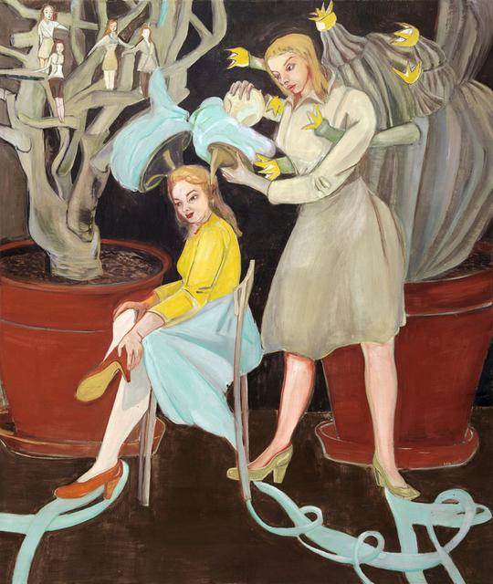 , 'Vermittlung,' 2010, Jane Lombard Gallery