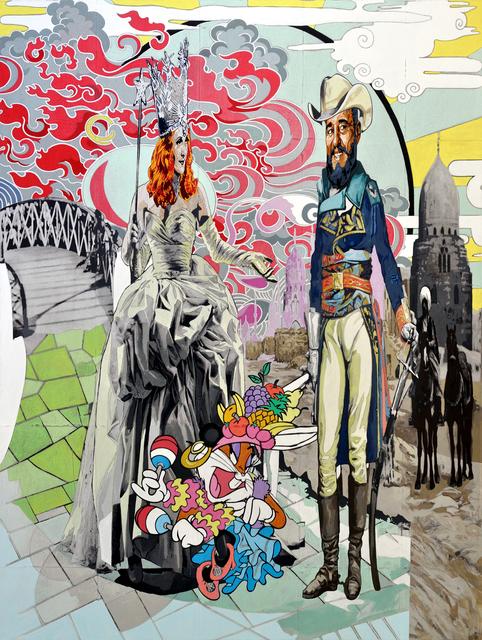 , 'de la Norteña y el Primer Ministro, la Mutacíon (of Northerner and Prime Minister, the Mutation),' 2011, Lisa Sette Gallery
