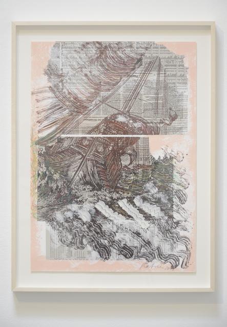 , 'paysages m. V,' 2014, Christopher Grimes Gallery