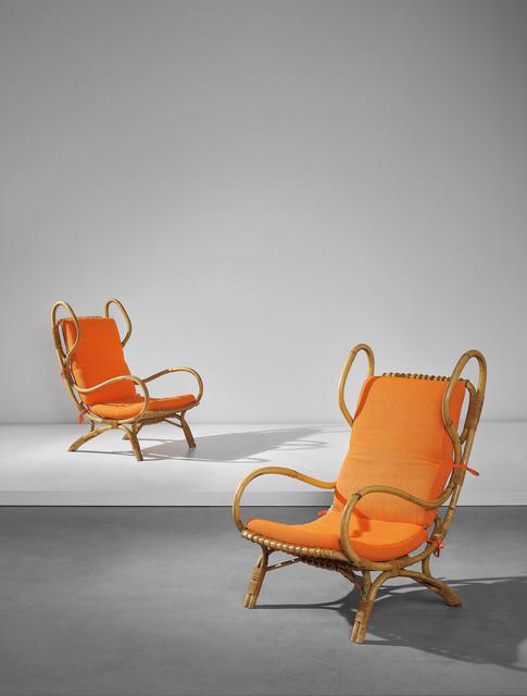 Gio Ponti, 'Pair of 'Continuum' armchairs', ca. 1963, Phillips