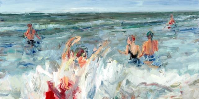Marshall Crossman, 'Beach Series #107 diptych', Julie Nester Gallery