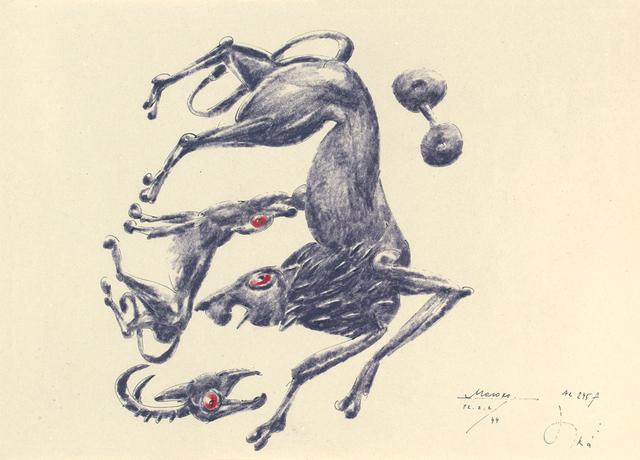 """, '""""Minoan series"""" 3,' 2001-2002, Krokin Gallery"""