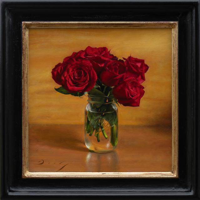 , 'Still Life with Roses in Mason Jar,' 2018, ARCADIA CONTEMPORARY