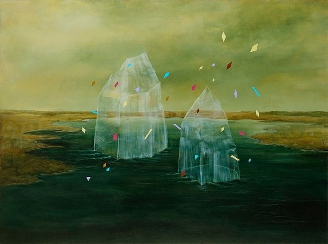 , 'Icebergs In Love,' 2014, Initial Gallery