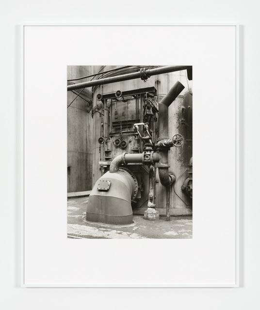 Bernd and Hilla Becher, 'Detail Blast Furnace, Diffedange', 1983, Paula Cooper Gallery