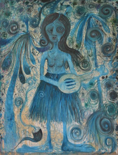 , 'Blue Hawaii,' 2017, Hans Alf Gallery