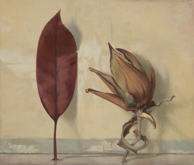 , 'Red Leaf with Artichoke Fragment,' , Jonathan Cooper