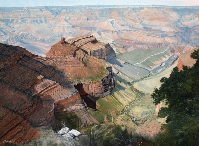 , 'Bright Angel Trail,' , Gallery 1261