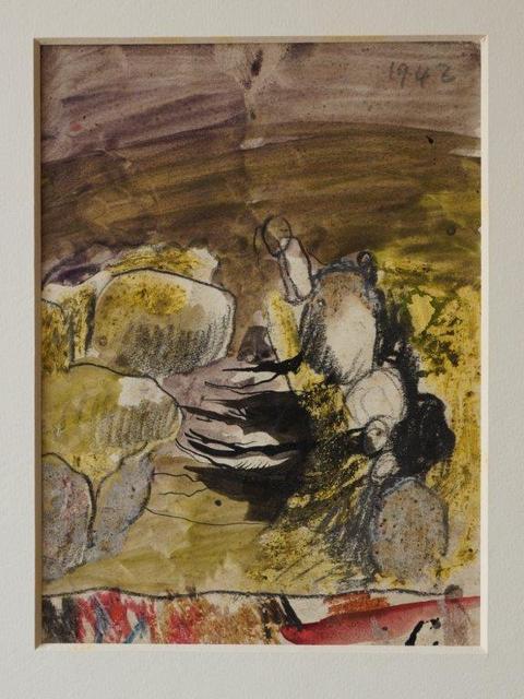, 'Study of Boulders,' 1942, Christopher Kingzett Fine Art