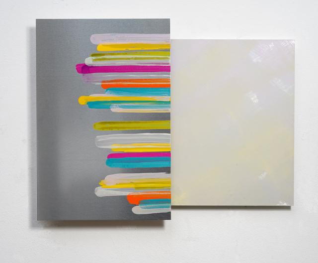 , 'composite painting #45,' 2018, Galerie Floss & Schultz