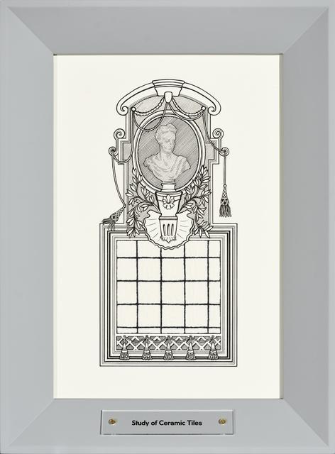 ", 'Study of Ceramic Tiles, from series ""Study of a Toilet"",' 2016, Temnikova & Kasela"