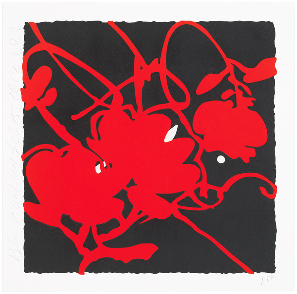 , 'Black and Red, Feb 15th 2012,' 2012, Vertu Fine Art