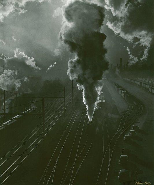 , 'Pennsylvania Train Yard,' , Alan Klotz Gallery