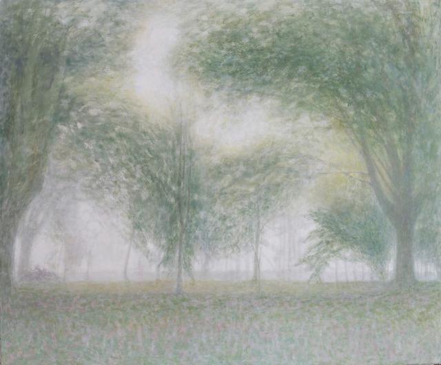 , 'Jardín con niebla,' 2016-2017, Álvaro Alcázar