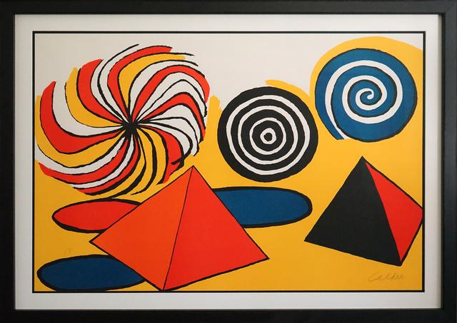 , 'Untitled (Pinwheels and Pyramids) ,' ca 1970, Pascal Fine Art