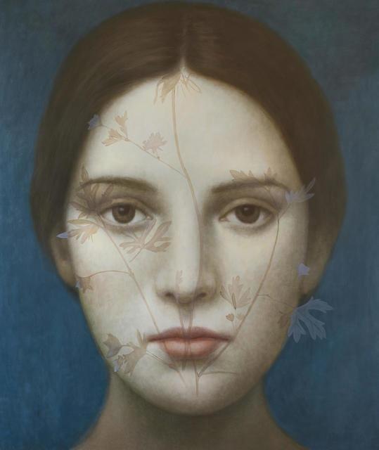 , 'Azul Indigo II,' 2017, Nüart Gallery