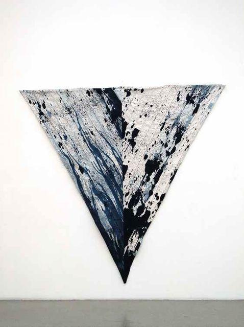, 'Valparaiso green cloak,' 2015, Blum & Poe
