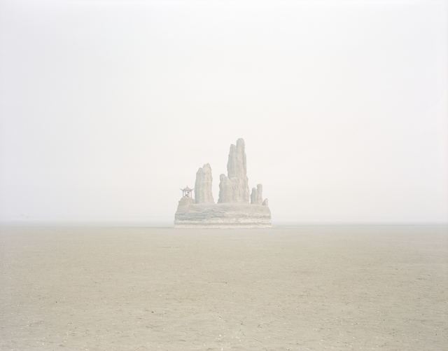 , 'A Rockery in the Middle of a Dry Lake, Shandong,' 2011, Beetles + Huxley