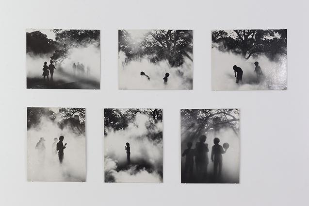 Earth Talk Fog Sculpture #94768, Sydney Biennale, 1976, photographs: Elizabeth Burns