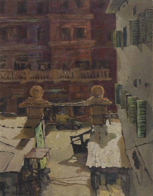Bikash Bhattacharjee | Untitled (1961) | Artsy