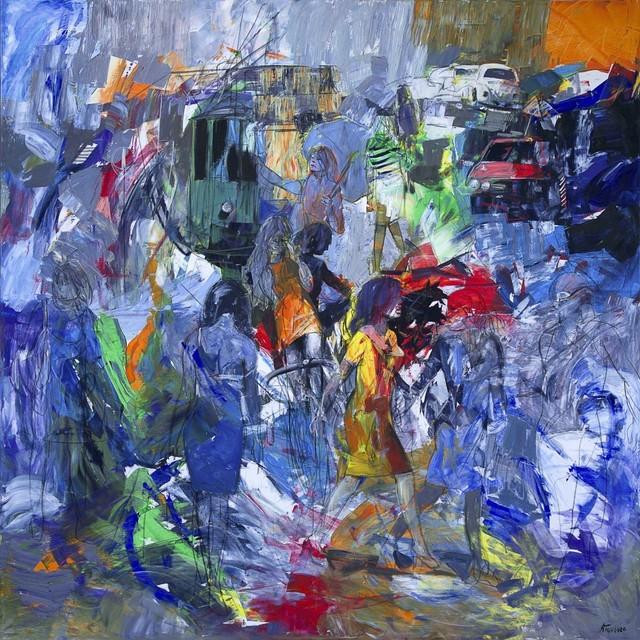 , 'Frammenti di una metropoli,' 2018, Spazio Anna Breda