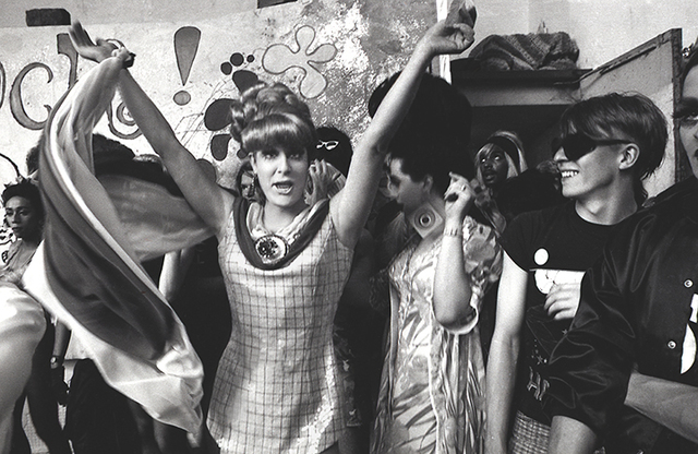 , 'Lady Bunny onstage with others, Wigstock 1980s-90s,' 1980-1995, AMP: Art Market Provincetown