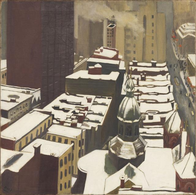 , 'CITYSCAPE,' 1952, Cheim & Read