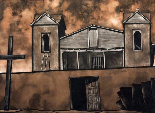 , 'Santuario de Chimayo,' 1937, Addison Rowe Gallery