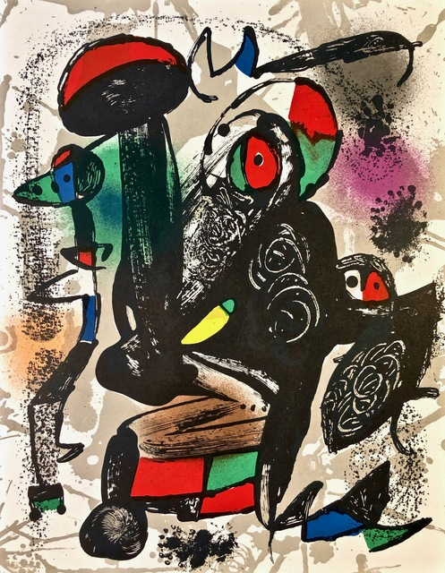 Joan Miró, 'Lithographie Originale III', 1981, Print, Original Lithograph, Inviere Gallery