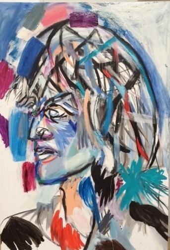 Maria Zerres, 'Ingeborg Bachmann', 2008, Galerie Brigitte Schenk