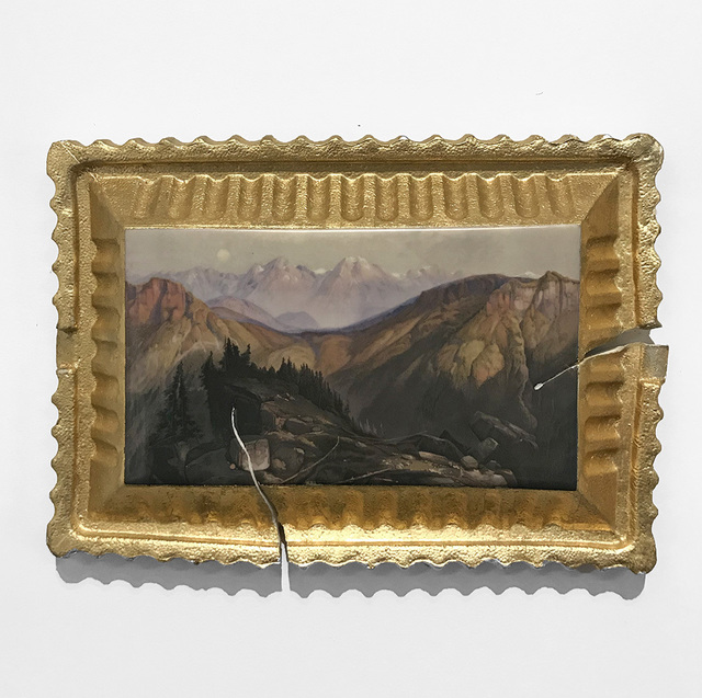 , 'Preservation & Use (Lower Yellowstone Range, 1874, Thomas Moran),' 2017, Ferrin Contemporary