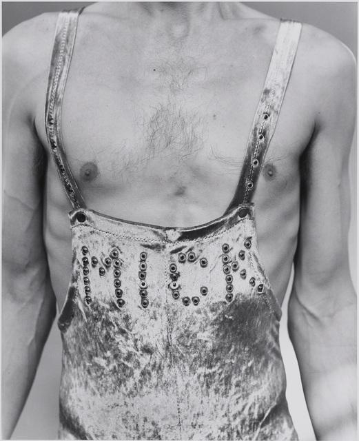 , 'Mick Jagger, London,' 1987, Museum of Fine Arts, Boston