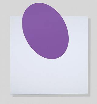 , 'Purple, On and Off,' 2018, Berry Campbell Gallery