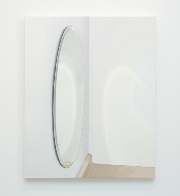 , 'Oval Mirror With Counter,' 2015, Magenta Plains