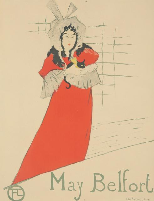 Henri de Toulouse-Lautrec, 'May Belfort.', 1895, Rennert's Gallery