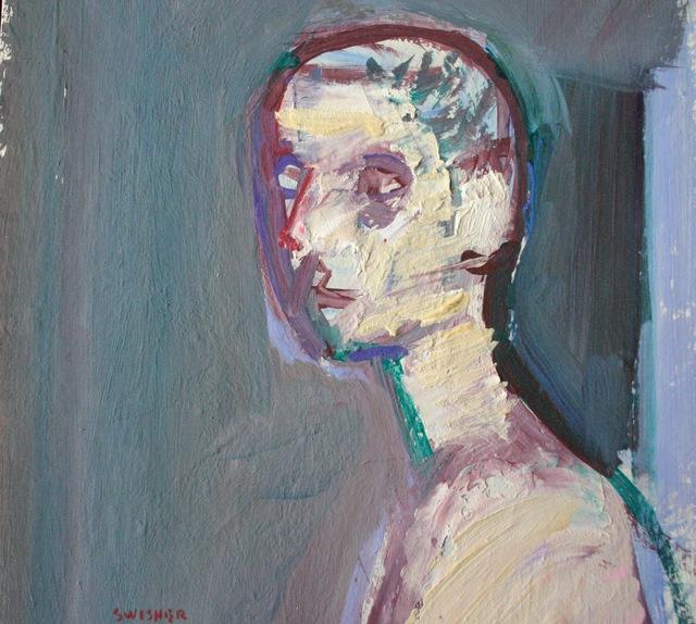 , 'Rough Head,' 2014, Flow 305