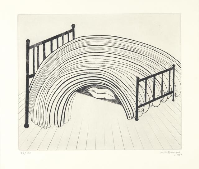 Louise Bourgeois, 'Bed', 1997, Invertirenarte.es