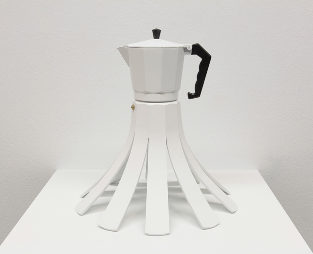 , 'Cafetera Flor,' , Vetusart