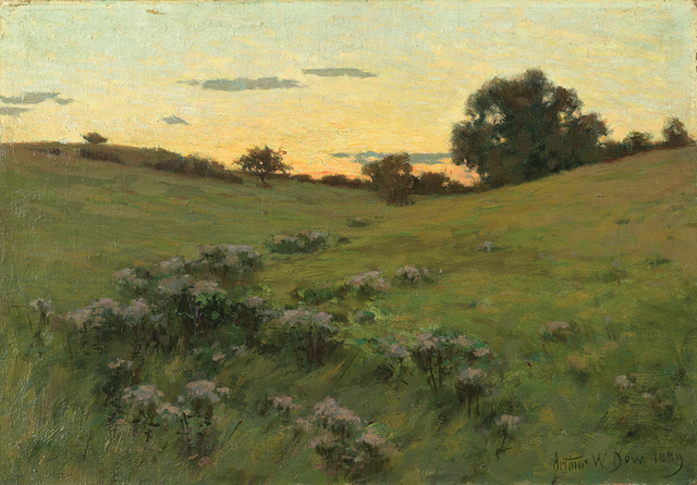 , 'Flowering Field,' 1889, Montclair Art Museum