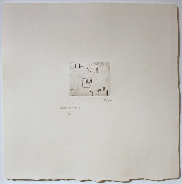 , 'Enda VII,' 1976, Galerie Ostendorff