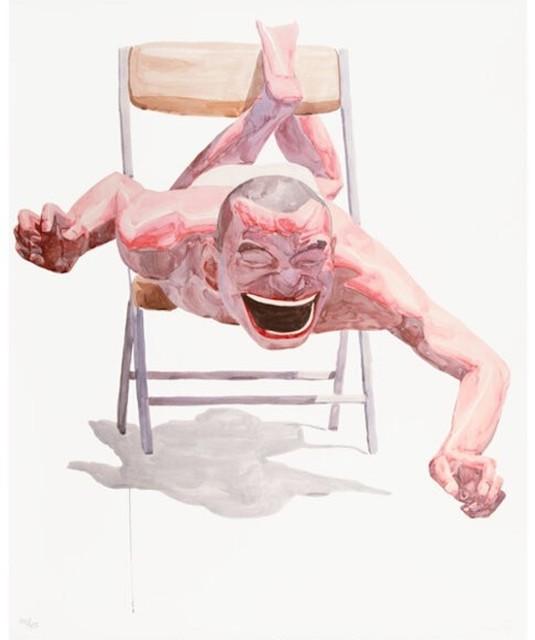 Yue Minjun, 'Smile-ism No. 21', 2006, Print, Original lithograph in colors, michael lisi / contemporary art
