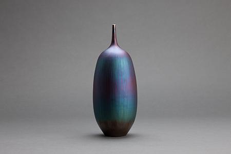 , 'Vase, blue hare's fur glaze,' , Pucker Gallery