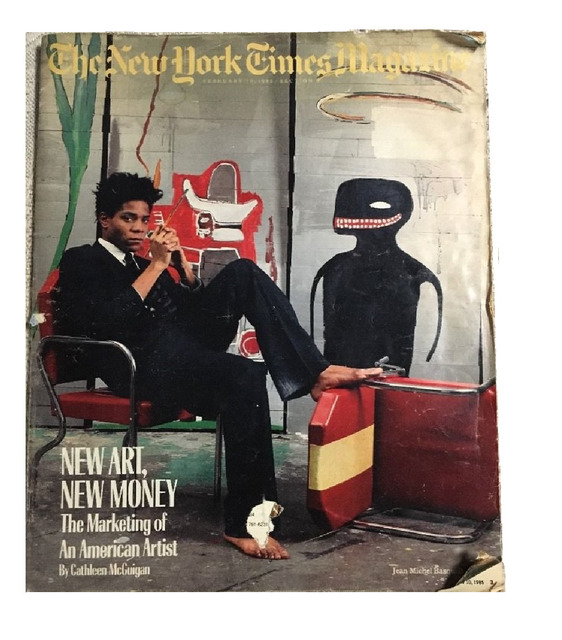 ", '""New Art. New Money"" New York Times Magazine.,' 1985, VINCE fine arts/ephemera"