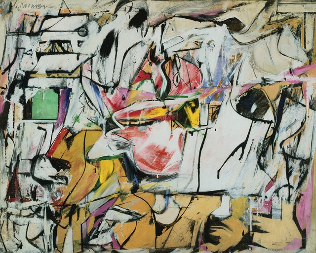 Willem de Kooning, 'Asheville', 1948, ICA Boston