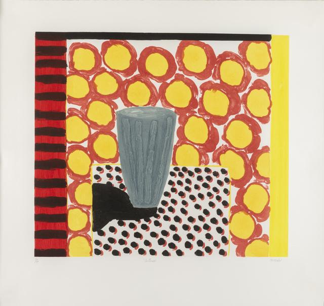 , 'Interior,' ca. 1990, Flowers