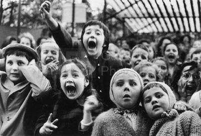 Alfred Eisenstaedt, 'Children at a Puppet Theatre', 1963, Contessa Gallery