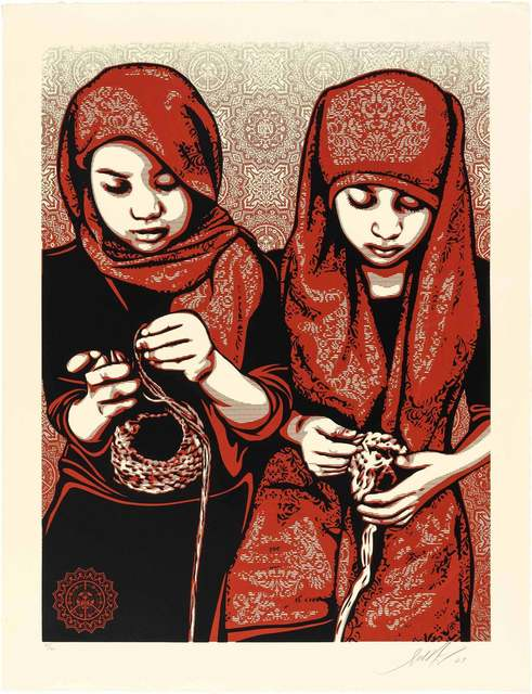 Shepard Fairey, 'Close Knit', 2009, Doyle