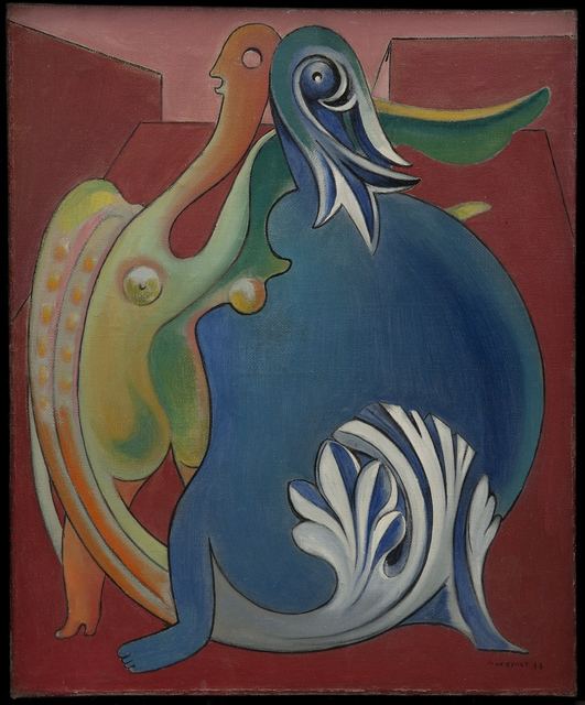 , 'Two Sexless Figures. Chimerae,' 1933, Statens Museum for Kunst